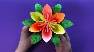 Baixar Blumen basteln mit Papier 💐 DIY Geschenkideen - Einfache Deko selber machen