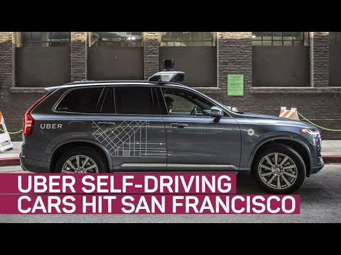 Uber's self-driving cars ready to pick you up in SF (CNET News)