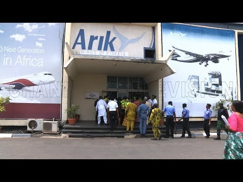 House Committee On Banking & Currency On An Oversight Visit To Arik Air  Aviation This Week 