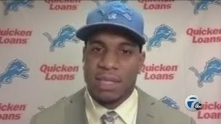 First interview with Lions first-round NFL Draft pick Eric Ebron