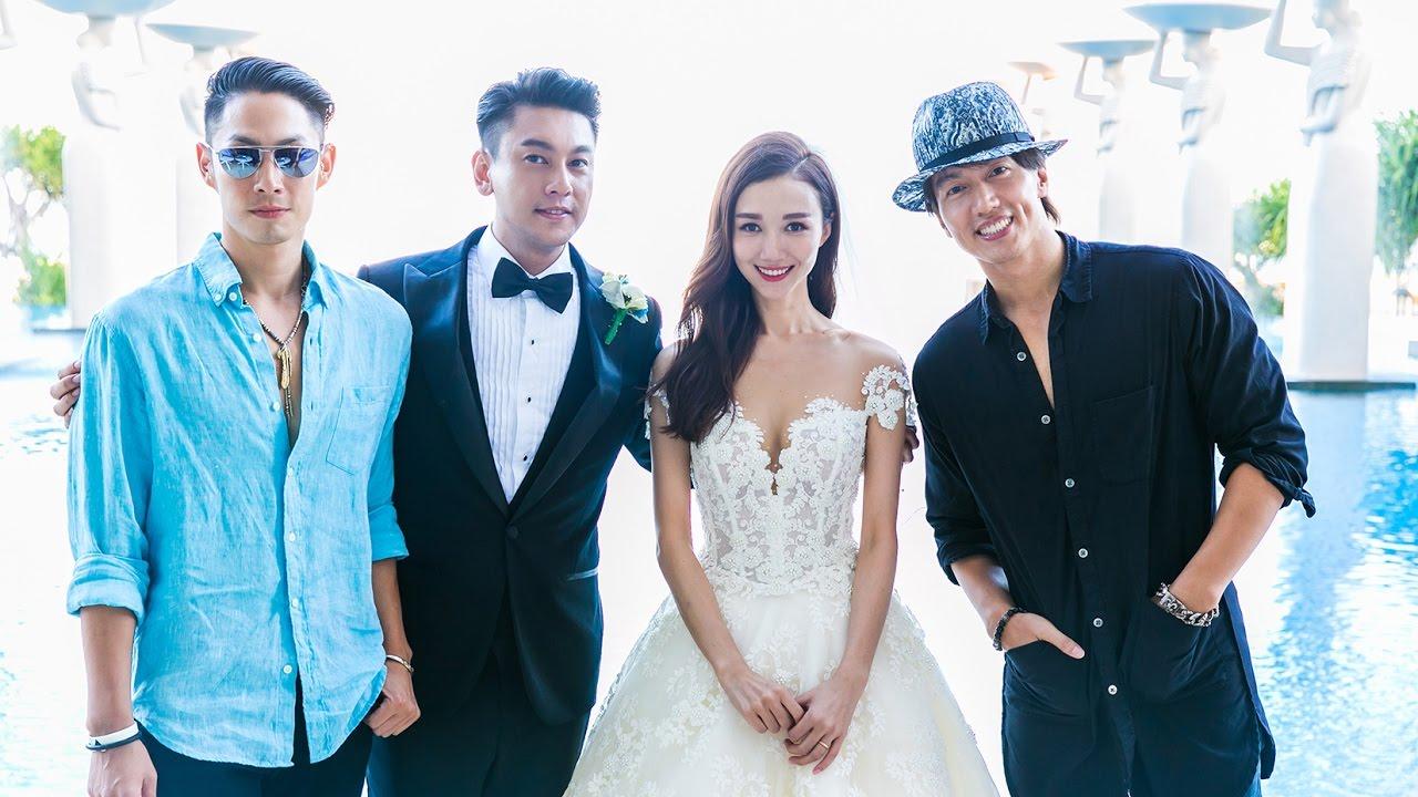 Celebrity Ken Chu of F4 Meteor Garden and Actress Wife Han ...