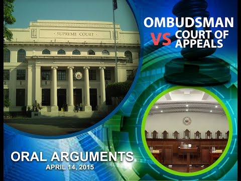Ombudsman v. Court of Appeals Oral Arguments