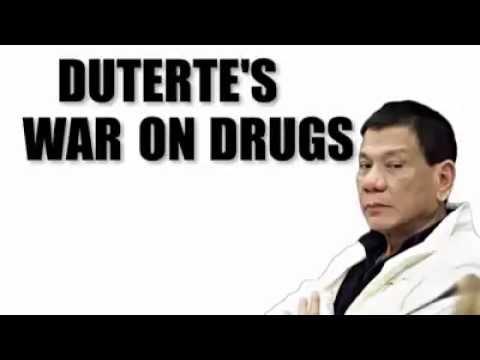 President Duterte's War on Drugs Expalined