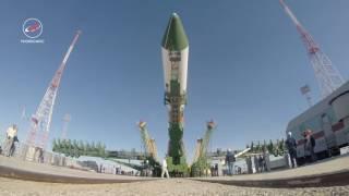 Вывоз РН «Союз 2 1а» с ТГК «Прогресс МС 06»
