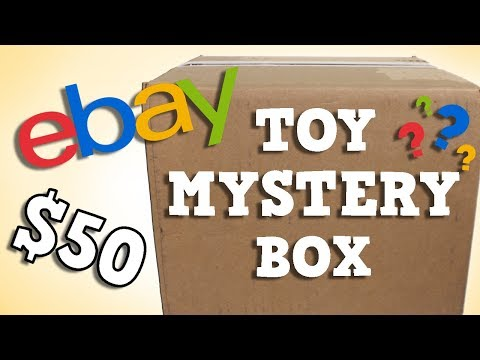 Opening a Kids Toy $50 eBay Mystery Box!