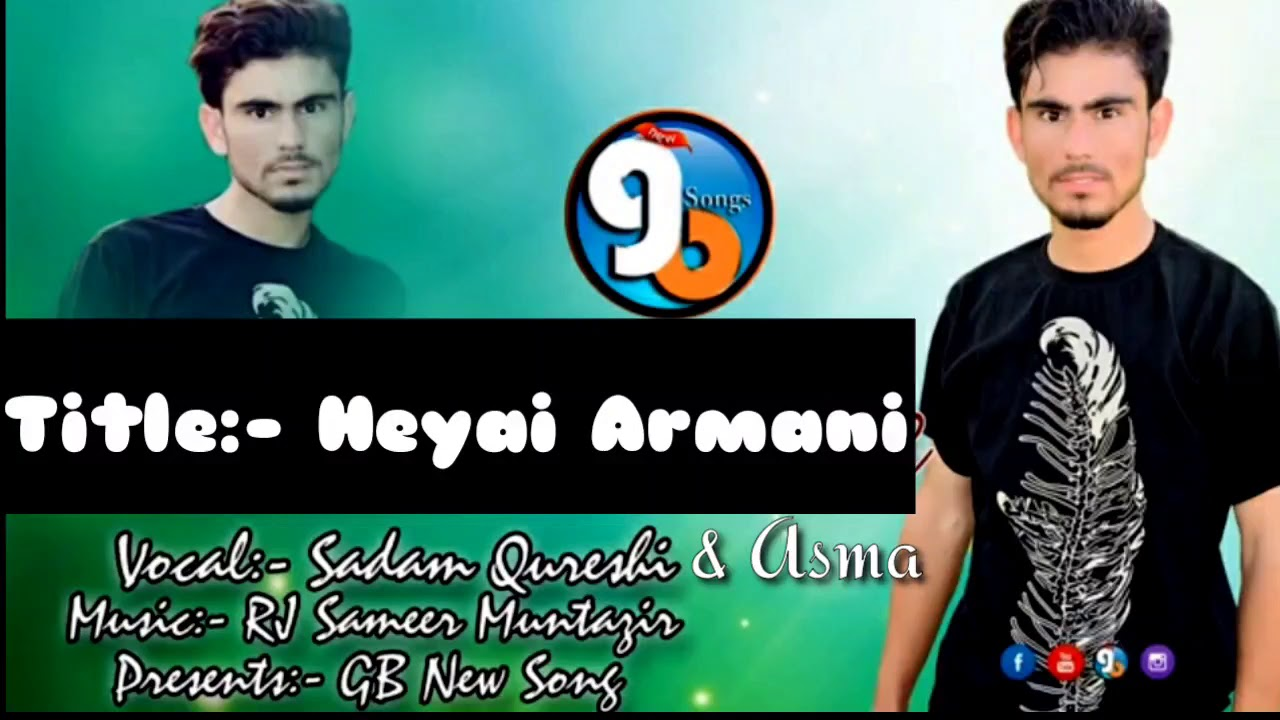 Heyai Armaani || Vocal Saddam Qureshi  Female Vocal Asma || Shina New Song 2020