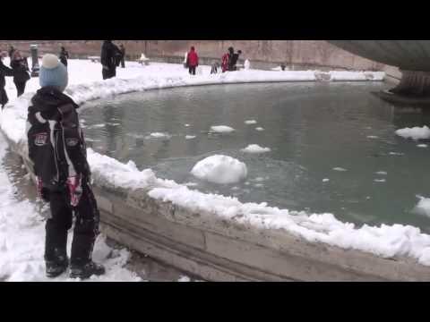 Grande nevicata a Roma - 3-4 febbraio 2012