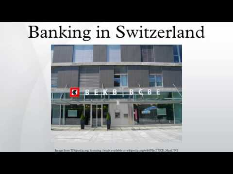 Banking in Switzerland