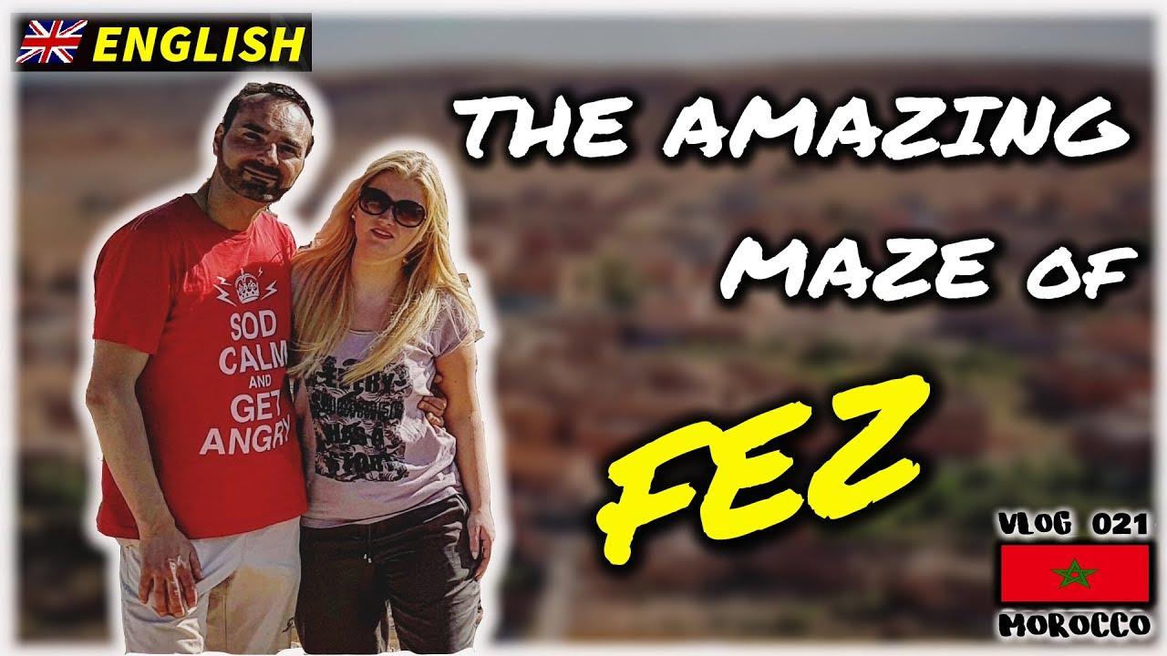 The amazing maze of FEZ (Morocco vlog)