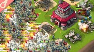 208 Mass Riflemen Spam vs Imitation Game! Boom Beach Hammerman Takedown!