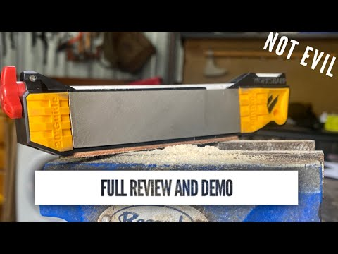 How To Sharpen in Full with the Work Sharp Guided Field Sharpener (Review)