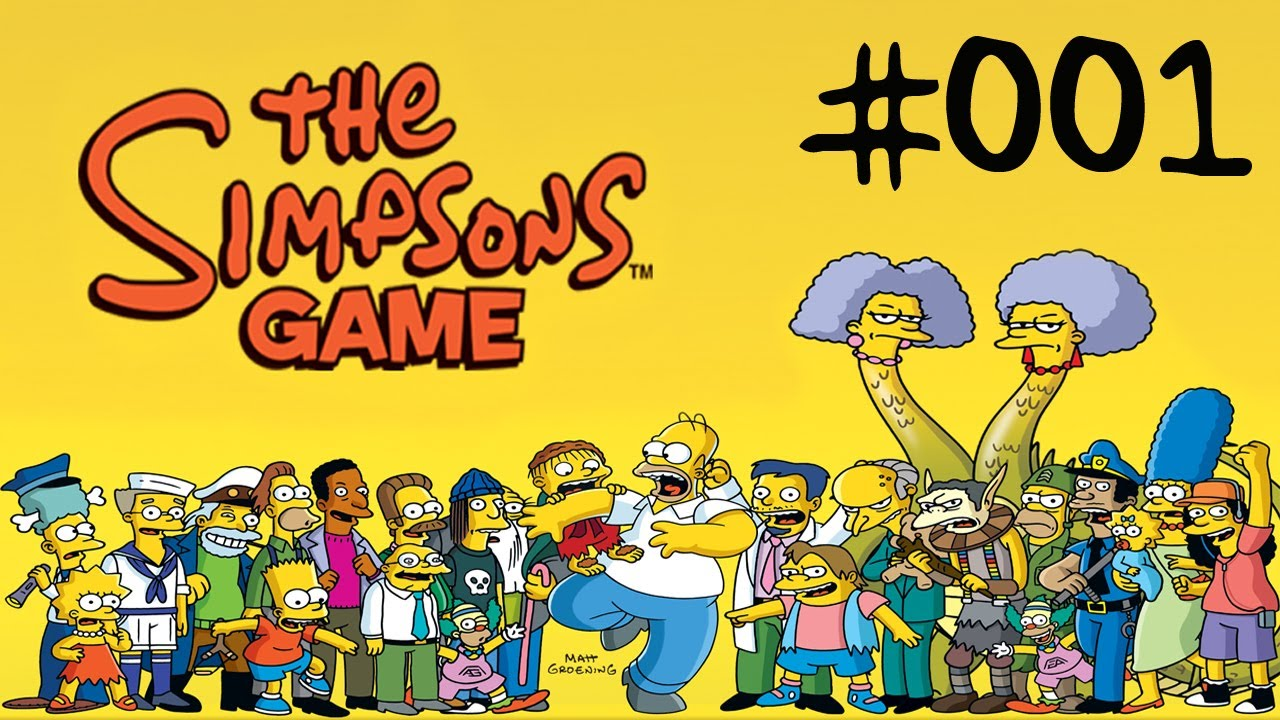 the simpsons spiele