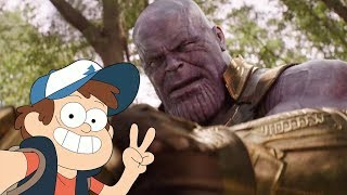 Marvel \ Gravity Falls | Dipper Reacts to Avengers: Infinity War Official Trailer #2