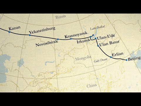 TRANS-SIBERIAN RAILWAY • A winter journey from SAINT PETERSBURG to BEIJING