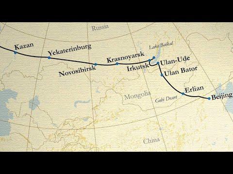 TRANS-SIBERIAN RAILWAY • A winter journey from SAINT PETERSBURG to BEIJING