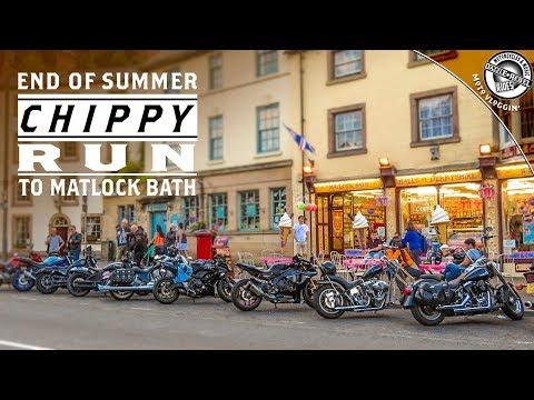 End Of Summer Chippy Run To Matlock Bath   Moto Vloggin   S5E36