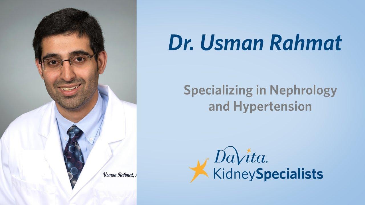 Fredericksburg Kidney Doctor, Nephrologist for Renal Care