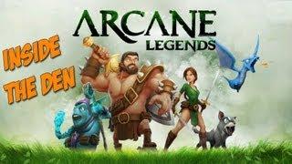 Arcane Legends Gameplay Review Inside the Den HD Feature