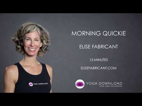 Morning Quickie - FREE MORNING 15 MINUTE YOGA CLASS