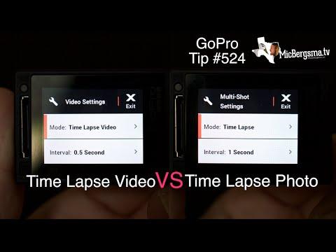 Time Lapse VIDEO vs Time Lapse PHOTO - GoPro Tip #524   MicBergsma thumbnail
