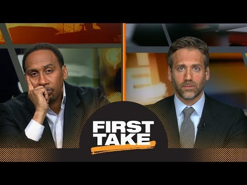 Max defends 'stat geeks' with data showing LeBron James is 'slowing down' | First Take | ESPN