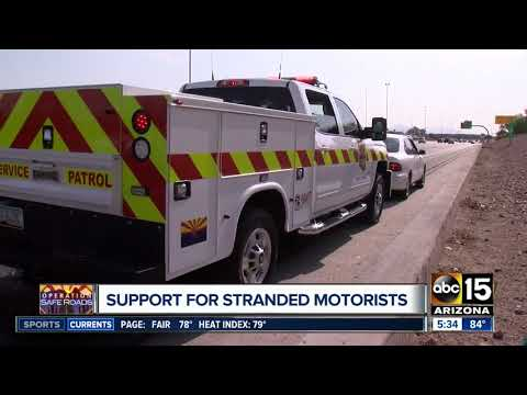 DPS Roadside Assistance Crews Put Their Lives On The Line To Help Stranded Motorists