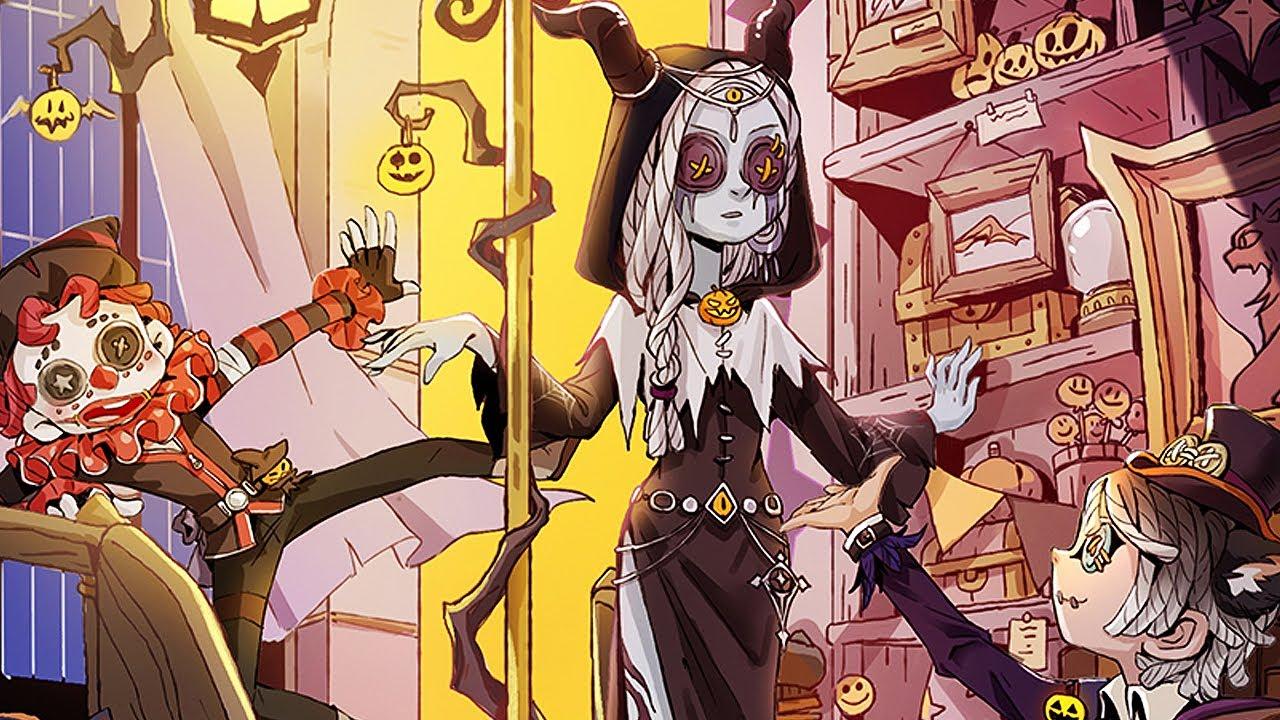 Halloween poster + main music theme / Identity V