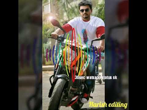 Vijay  movie  BGM for 30sec WhatsApp status sk