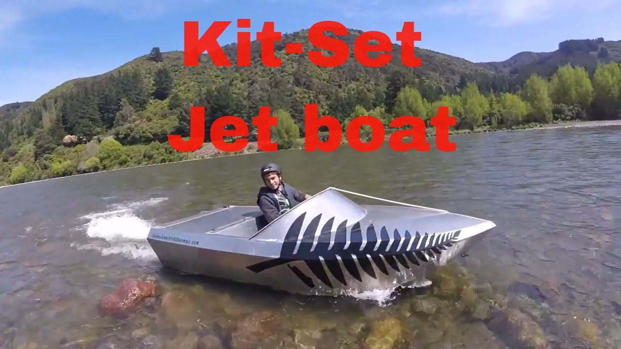 Jet Boat kitset testing - YouTube