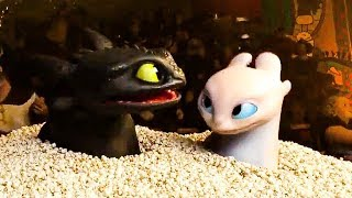 How To Train Your Dragon 3 'Toothless & Light Fury Date' Trailer (2019) HD