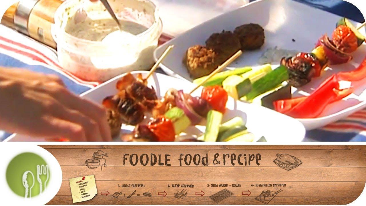 das perfekte picknick vom profikoch stefan dadarski i foodle food recipe youtube. Black Bedroom Furniture Sets. Home Design Ideas