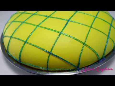 DIY Perfect Soft Iceberg Slime   How To Make Soft Iceberg Slime   Satisfying Iceberg Slime