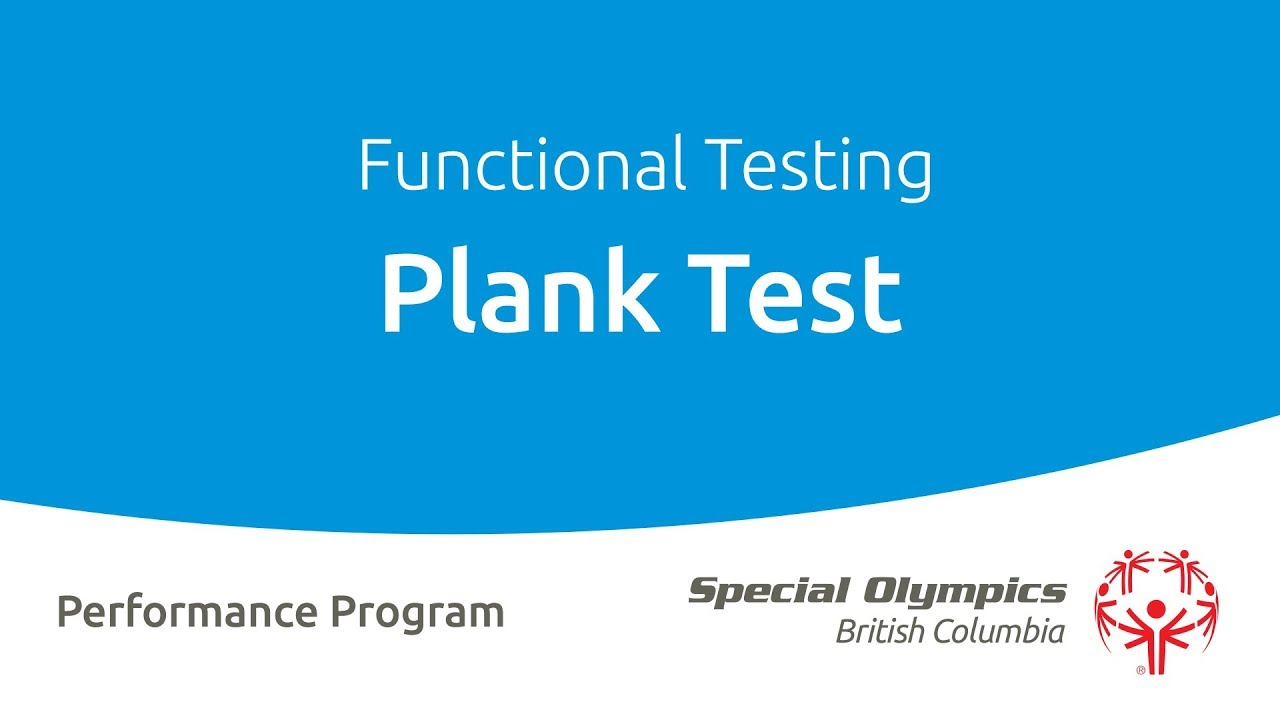 Functional Testing | Special Olympics British Columbia