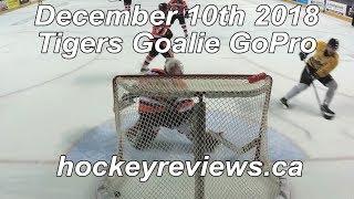 December 10th 2018 Tigers Hockey Goalie GoPro