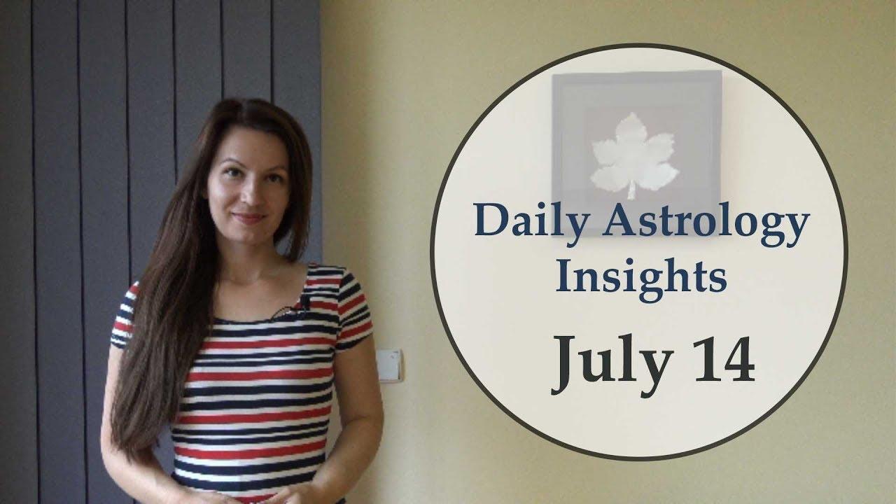 Daily Astrology Horoscope: July 14 | Venus trine Saturn