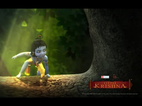 Little Krishna Tamil - Episode 3  The Horror Cave
