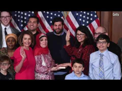 Michigan's Rashida Tlaib is one of the first Muslim woman in Congress