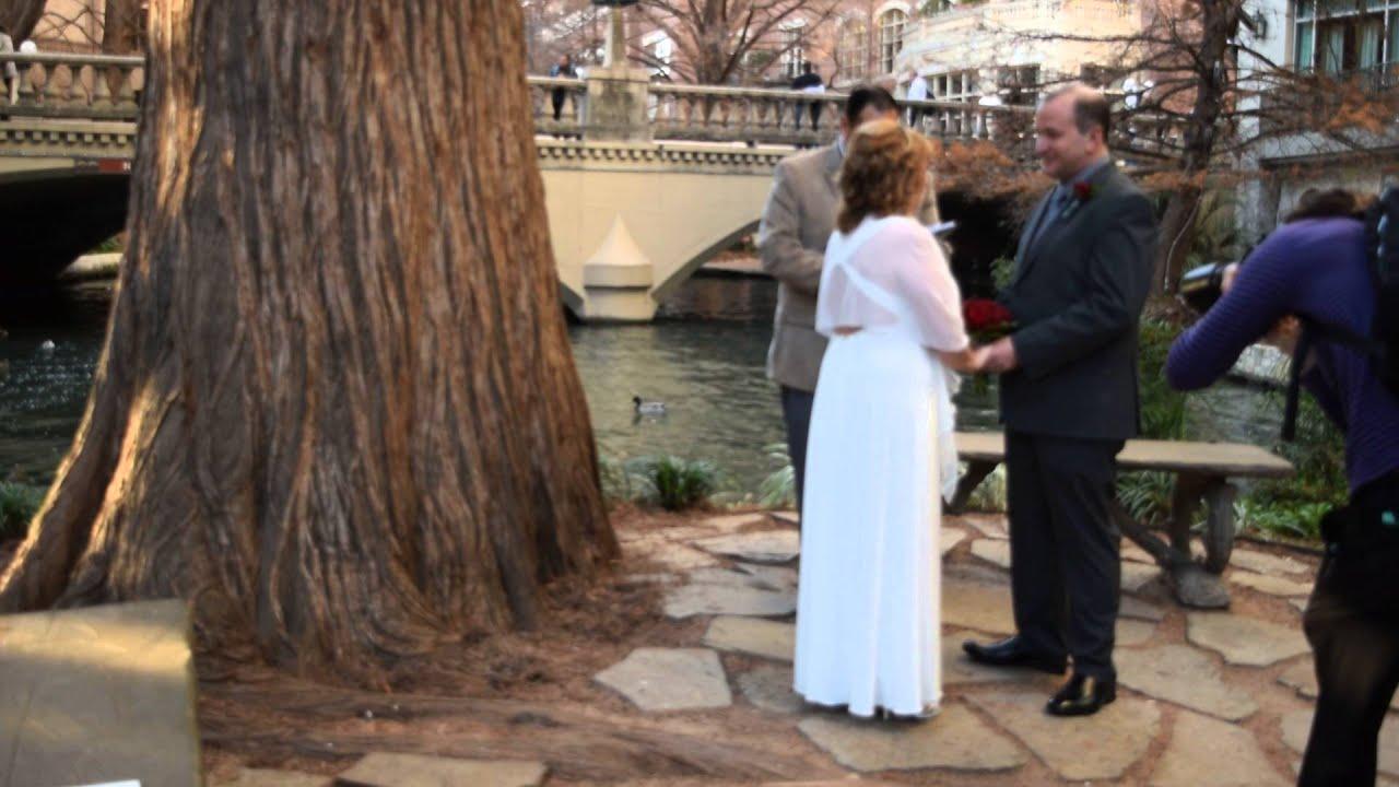 Pam & Rob\'s Wedding-Marriage Island-San Antonio - YouTube