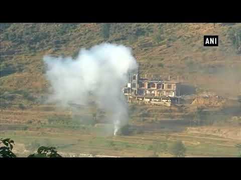 Watch: Heavy shelling by Pakistan in KG sector - ANI News