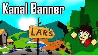 Minecraft Kanal Banner | YouTube Kanal Banner malen für Lars
