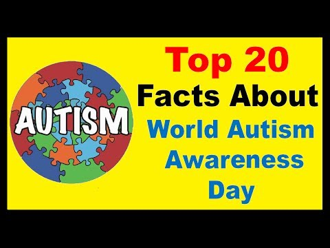 World Autism Awareness Day  - Facts