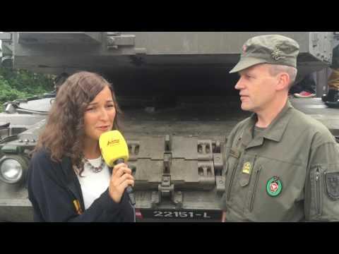 ANTENNE VORARLBERG: Panzertransport auf der A14