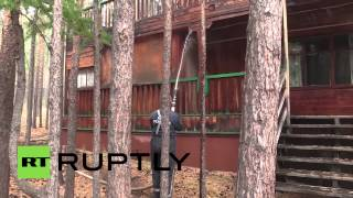 Russia: Tourists evacuated as EMERCOM battle firestorms at Lake Baikal