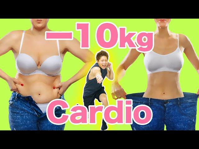【10分】パンチで脂肪を1kg落とす!全身の脂肪燃焼有酸素運動! | Muscle Watching