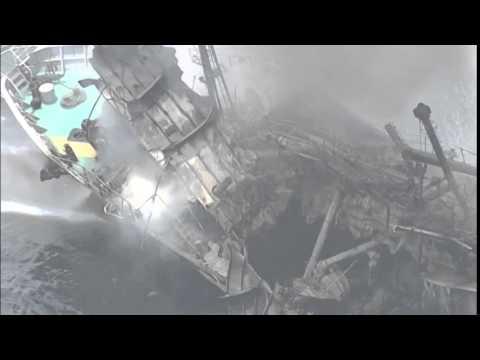 4106AS JAPAN AT SEA-TANKER EXPLOSION