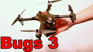 LARGE Cheap Brushless Camera Drone - MJX Bugs 3 - Stunts GoPro Quadcopter - TheRcSaylors