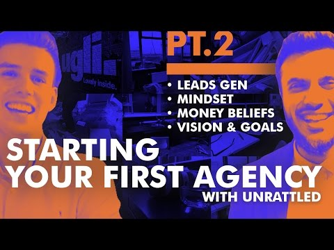 Running Your First Creative Agency - Pt. 2 - Generating Leads | Mindset | Money | Goals