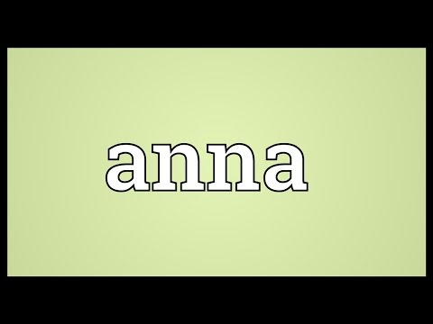 Anna Meaning