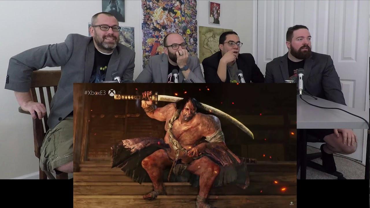 Reaction Sekiro Shadows Die Twice E3 2018 Microsoft Press Conference
