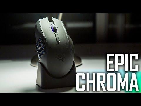 Razer Naga Epic Chroma Wireless MMO Gaming Mouse Review